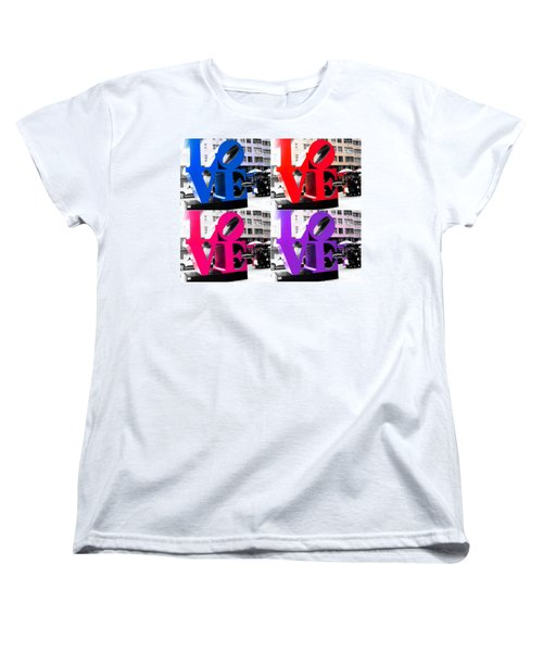 Women's T-Shirt (Standard Cut) featuring the photograph Love Pop by J Anthony