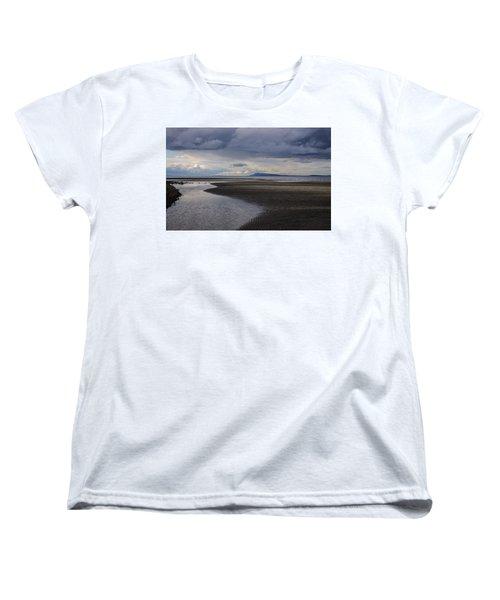 Tidal Design Women's T-Shirt (Standard Cut) by Roxy Hurtubise