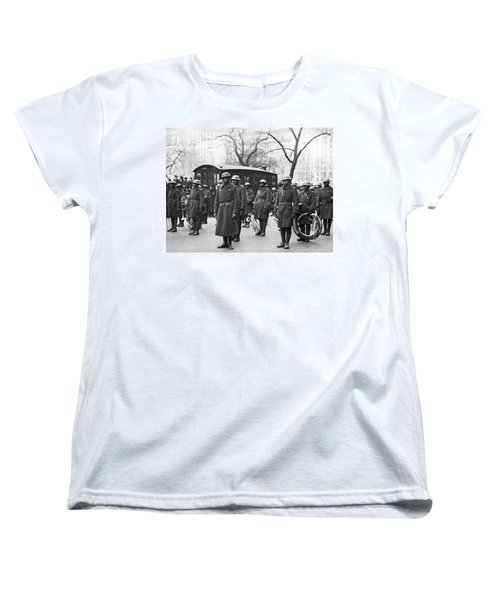 Lt. James Reese Europe's Band Women's T-Shirt (Standard Cut) by Underwood Archives