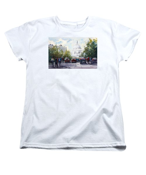 Madison - Capitol Women's T-Shirt (Standard Cut) by Ryan Radke