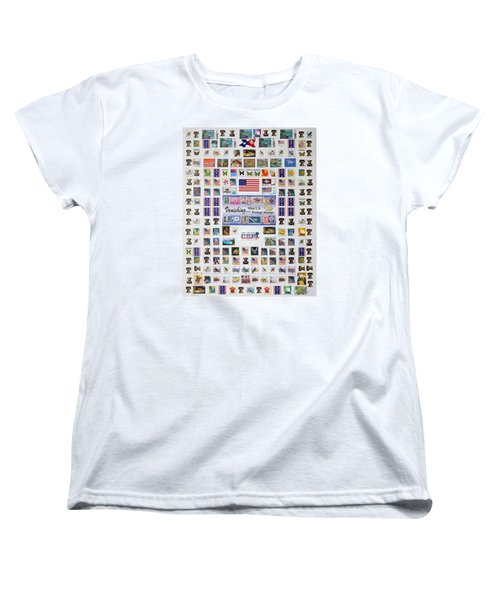 Women's T-Shirt (Standard Cut) featuring the photograph Magnificent Collections by Lorna Maza