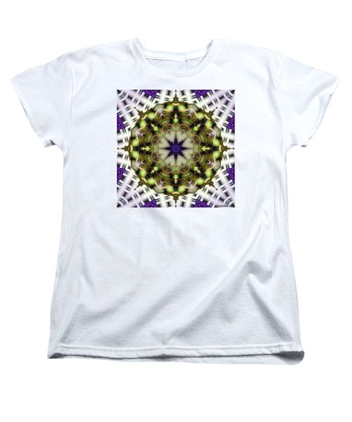 Mandala 21 Women's T-Shirt (Standard Cut) by Terry Reynoldson