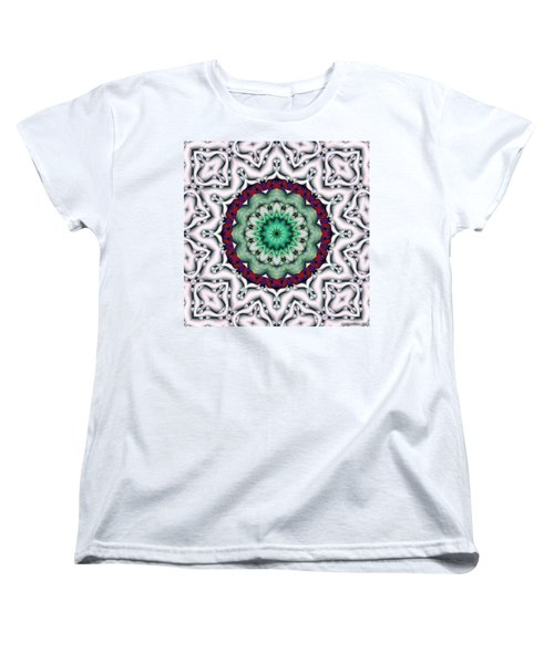 Mandala 8 Women's T-Shirt (Standard Cut) by Terry Reynoldson