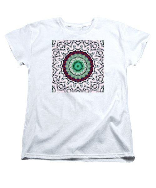 Mandala 9 Women's T-Shirt (Standard Cut) by Terry Reynoldson