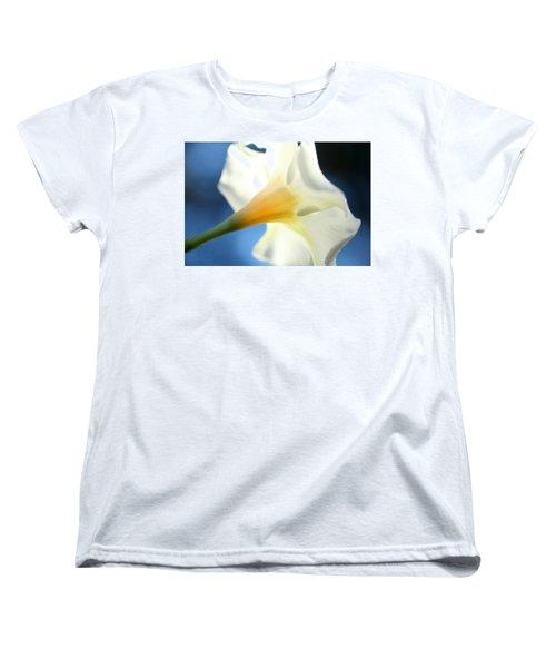 Women's T-Shirt (Standard Cut) featuring the photograph Mandevilla by Greg Allore