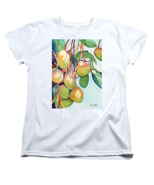 Mangoes Women's T-Shirt (Standard Cut)