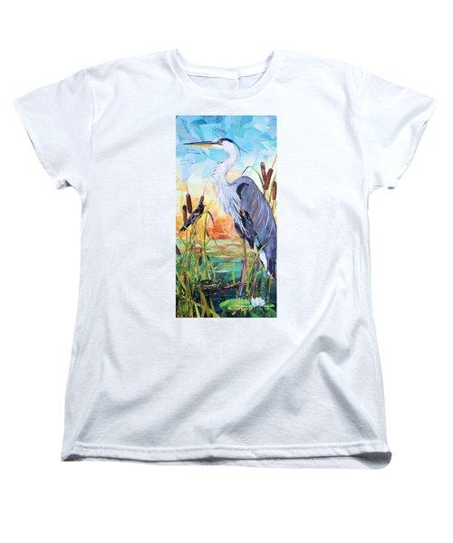 Marshland Moring Women's T-Shirt (Standard Cut)