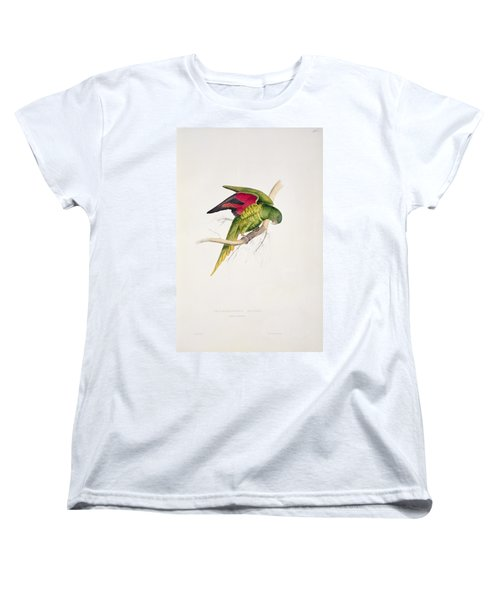 Matons Parakeet Women's T-Shirt (Standard Cut) by Edward Lear