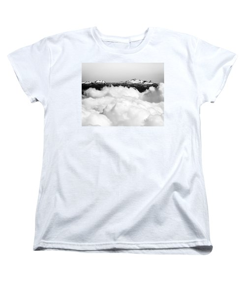 Mauna Kea Women's T-Shirt (Standard Cut) by Denise Bird