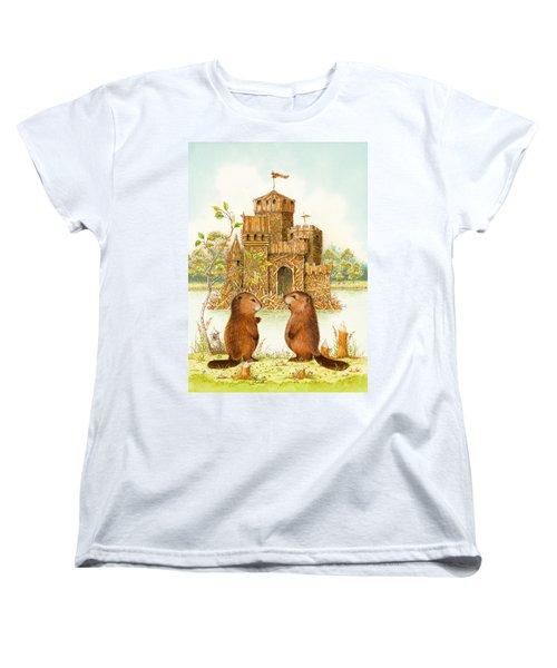Mclodge Women's T-Shirt (Standard Cut) by Lynn Bywaters