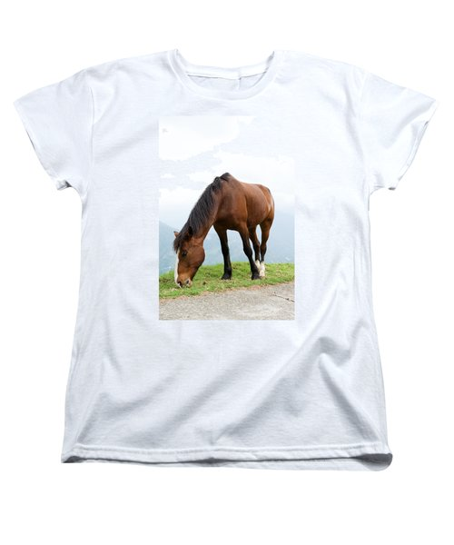 Women's T-Shirt (Standard Cut) featuring the photograph Meal Time by Yew Kwang