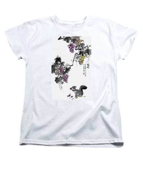 Melody Of Life II Women's T-Shirt (Standard Cut) by Yufeng Wang