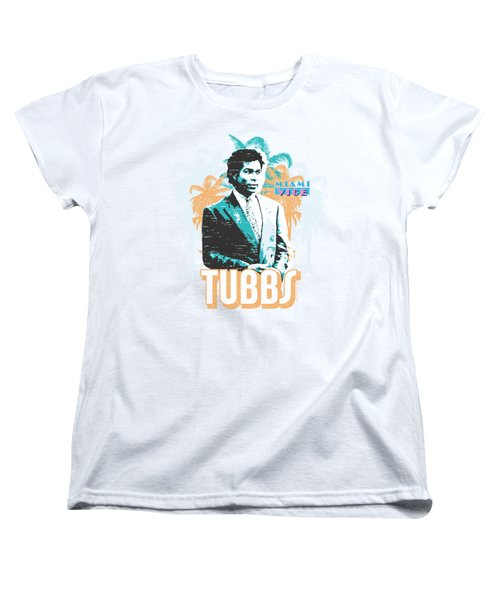 Miami Vice - Tubbs Women's T-Shirt (Standard Cut) by Brand A