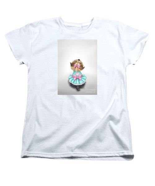 Miss Pretty Women's T-Shirt (Standard Cut) by Catia Cho