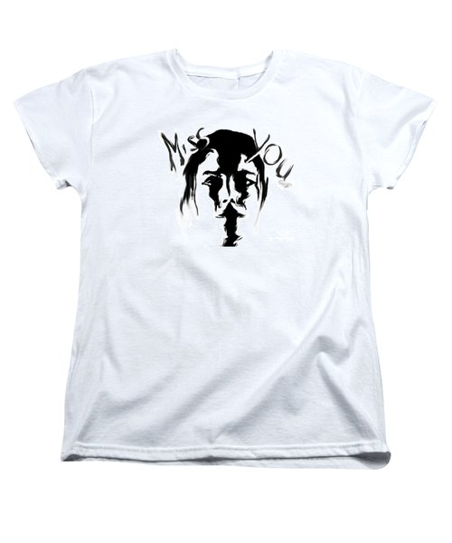 Missing You Women's T-Shirt (Standard Cut) by Tbone Oliver