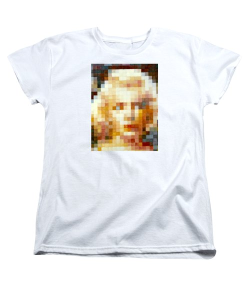 Women's T-Shirt (Standard Cut) featuring the painting Marylin by Henryk Gorecki