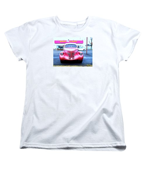 Women's T-Shirt (Standard Cut) featuring the photograph Modern Classics by MJ Olsen
