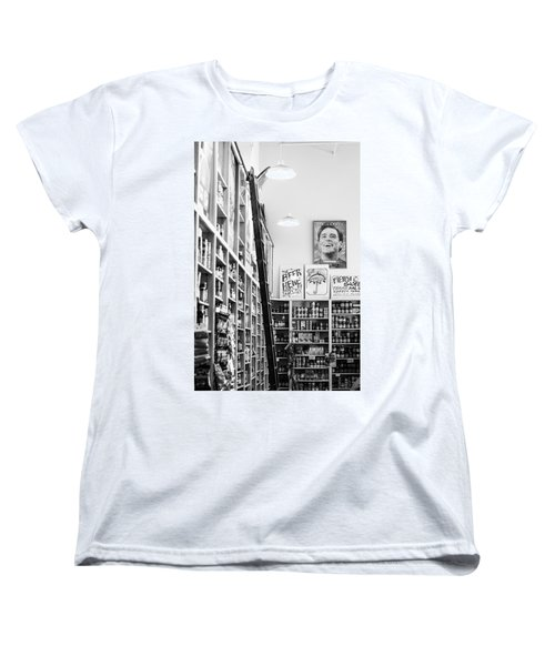 Modica Market - Black And White Women's T-Shirt (Standard Cut) by Shelby  Young