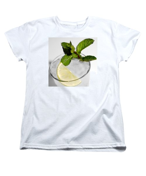 Mojito Detail Women's T-Shirt (Standard Cut) by Gina Dsgn