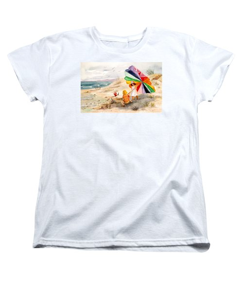 Moments To Remember Women's T-Shirt (Standard Cut) by Marilyn Smith