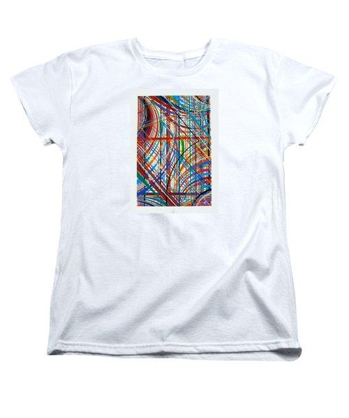 Monday Morning Women's T-Shirt (Standard Cut) by Alan Johnson