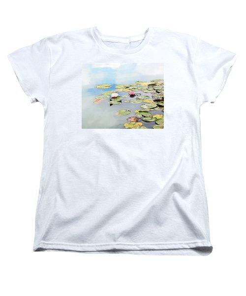 Women's T-Shirt (Standard Cut) featuring the photograph Monet's Garden by Brooke T Ryan