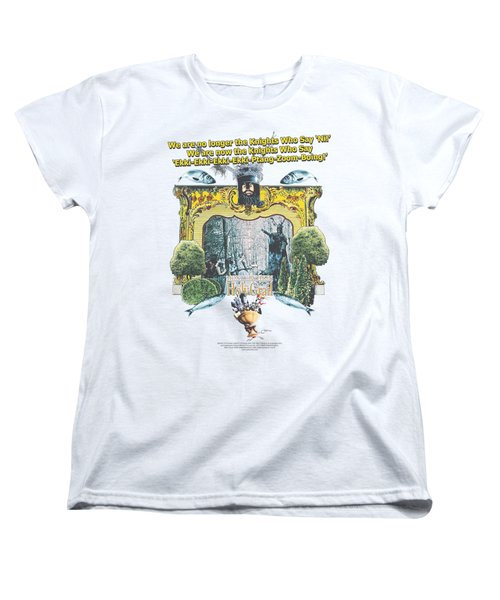 Monty Python - Knights Of Ni Women's T-Shirt (Standard Cut) by Brand A