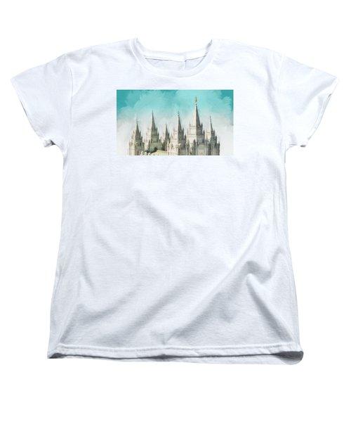 Morning Glory Women's T-Shirt (Standard Cut) by Greg Collins