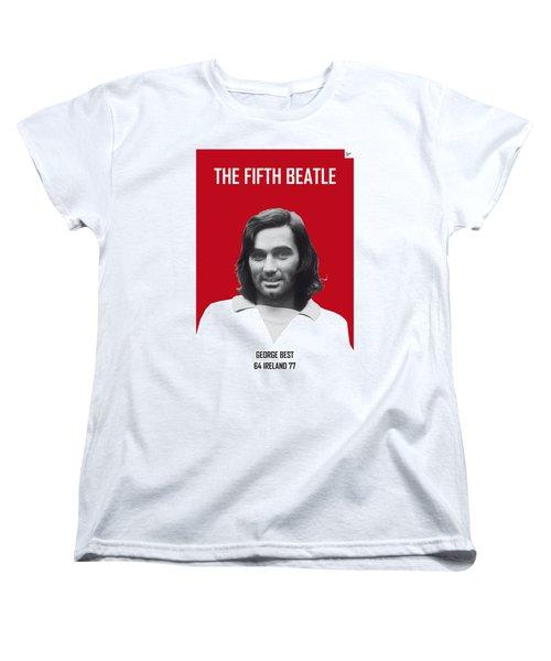 My Best Soccer Legend Poster Women's T-Shirt (Standard Cut)