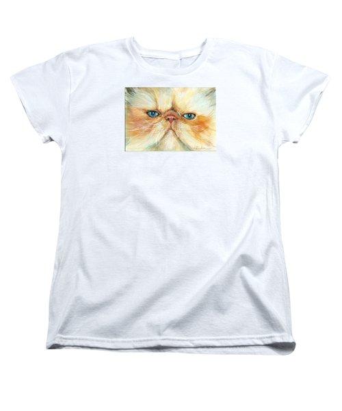 My Happy Face Women's T-Shirt (Standard Cut) by Donna Tucker