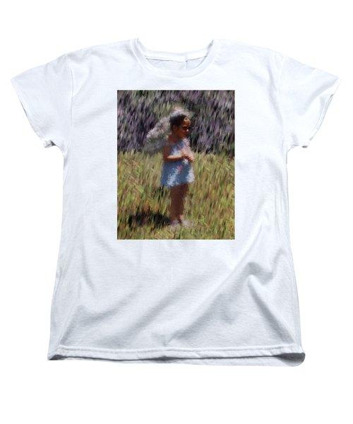 My Lee Women's T-Shirt (Standard Cut) by Vickie G Buccini