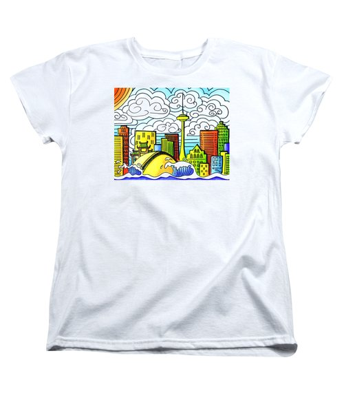 My Toronto Women's T-Shirt (Standard Cut) by Oiyee At Oystudio