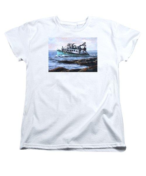 Mystique Lady Women's T-Shirt (Standard Cut) by Eileen Patten Oliver