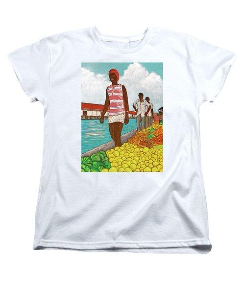 Nassau Woman Women's T-Shirt (Standard Cut) by Frank Hunter