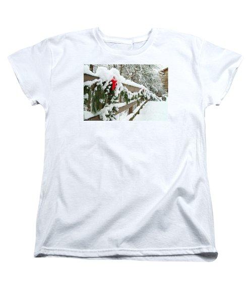 Nature's Decorations Women's T-Shirt (Standard Cut) by Michael McGowan