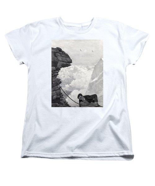 Nearly There Women's T-Shirt (Standard Cut) by Arthur Herbert Buckland