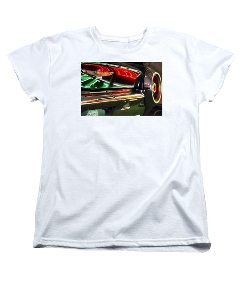 Women's T-Shirt (Standard Cut) featuring the photograph Neon Reflections by Shoal Hollingsworth