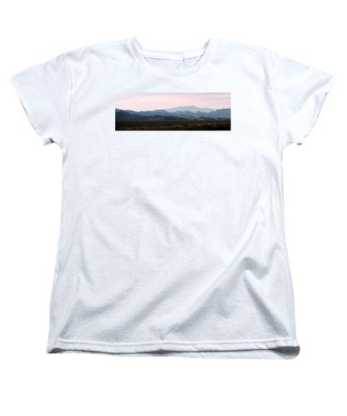 Nevada Sunset Women's T-Shirt (Standard Cut) by Kay Novy