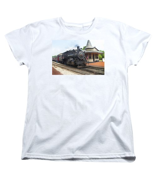 New Hope Station Women's T-Shirt (Standard Cut) by Paul W Faust -  Impressions of Light