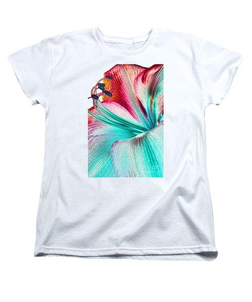 Women's T-Shirt (Standard Cut) featuring the digital art New Kid In Town by Margie Chapman