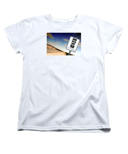 Women's T-Shirt (Standard Cut) featuring the photograph New Limits  by David Jackson