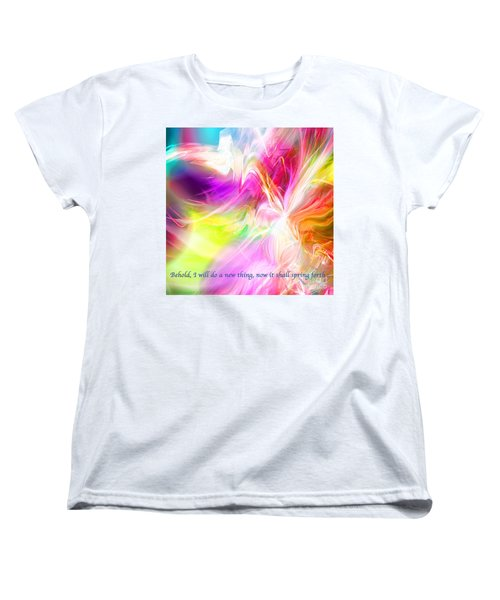 New Thing Women's T-Shirt (Standard Cut) by Margie Chapman