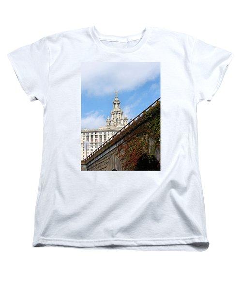 New York City Hall Women's T-Shirt (Standard Cut) by Kristin Elmquist