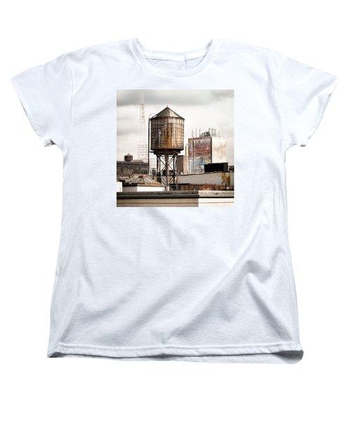 New York Water Tower 16 Women's T-Shirt (Standard Cut)