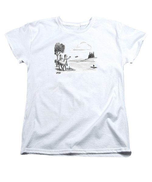 New Yorker September 24th, 1990 Women's T-Shirt (Standard Cut) by Warren Miller