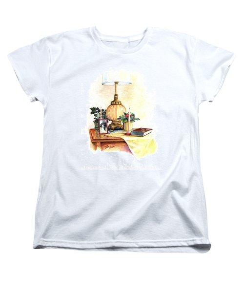 Nightstand Women's T-Shirt (Standard Cut) by Duane R Probus