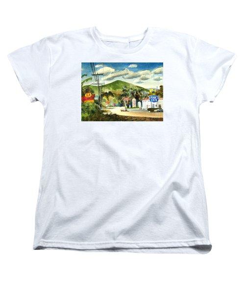 Nostalgia Arcadia Valley 1985  Women's T-Shirt (Standard Cut) by Kip DeVore