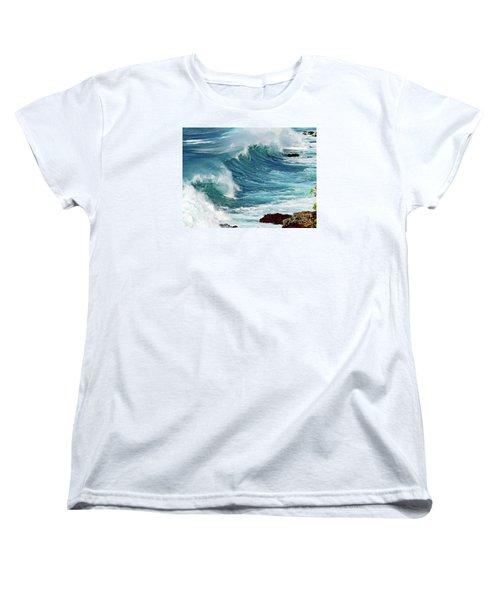 Ocean Majesty Women's T-Shirt (Standard Cut) by Patricia Griffin Brett