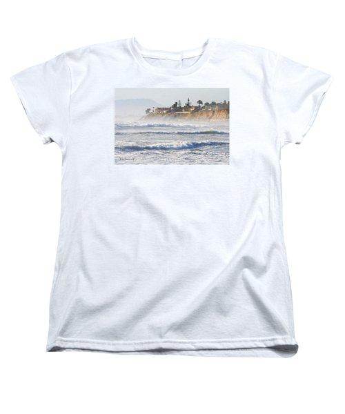 Women's T-Shirt (Standard Cut) featuring the photograph Oceanside California by Tom Janca