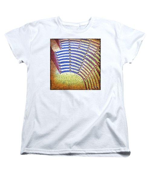 Ochre Auditorium Women's T-Shirt (Standard Cut) by Mark Jones